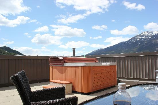 Sundial Boutique Hotel: Room 801 Hot Tub