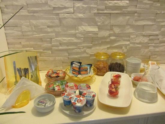 Habana's Design: Breakfast bar ourside your room
