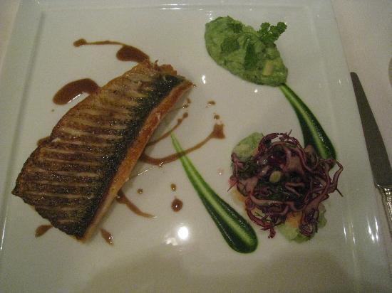 Restaurant Christopher Coutanceau: fillet of fish