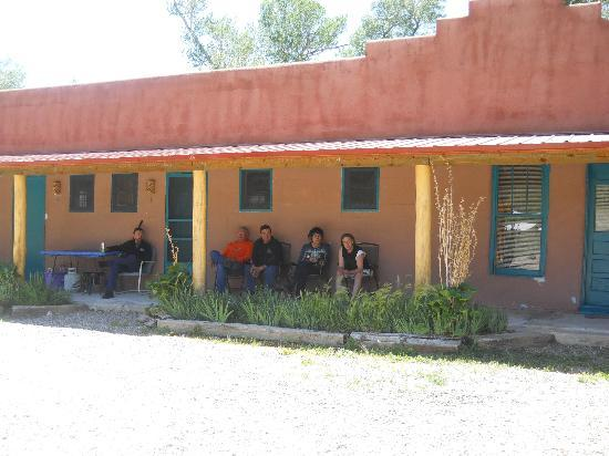 Questa, NM: Just relaxing outside