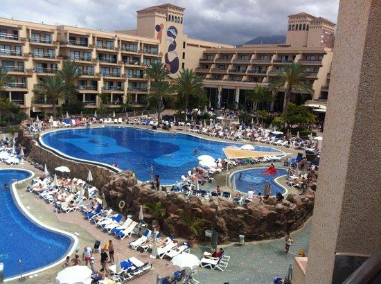 ClubHotel Riu Buena Vista: piscine supérieure