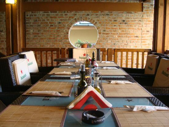 Restaurant ROSECAS : on the terrace