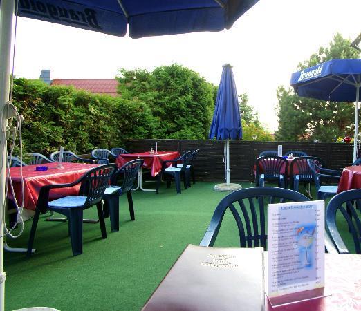 Müller's Hotel & Restaurant: Terrasse