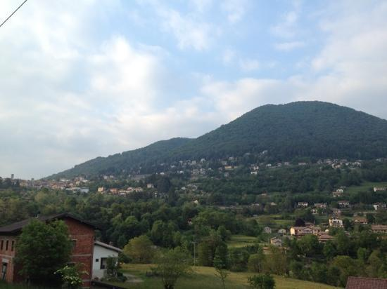 Agriturismo Il Talento Nella Quiete : view from up the hill from the agritourismo