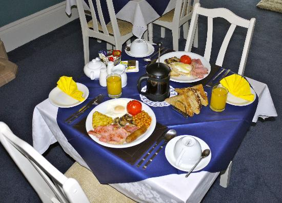 Babbacombe Guest House: Breakfast cooked fresh to your order