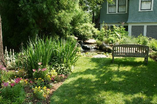 Black Walnut Bed and Breakfast Inn: Koi pond