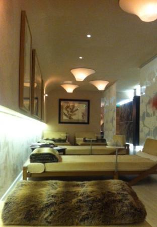 Grand Hotel & SPA de Gerardmer: SPA : espace détente et repos (avec tisanes et bar à eaux)