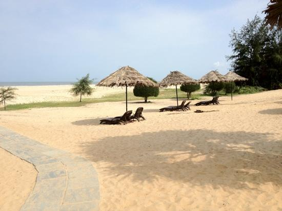 View To Private Beach Picture Of The Zuri White Sands Goa