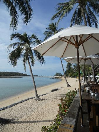 Nora Beach Resort and Spa: View from restaurant