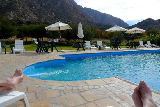 Vinas de Cafayate Wine Resort: Pool was empty!~