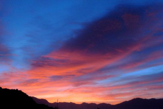 Vinas de Cafayate Wine Resort: Sunrise and sunset were our favorite times