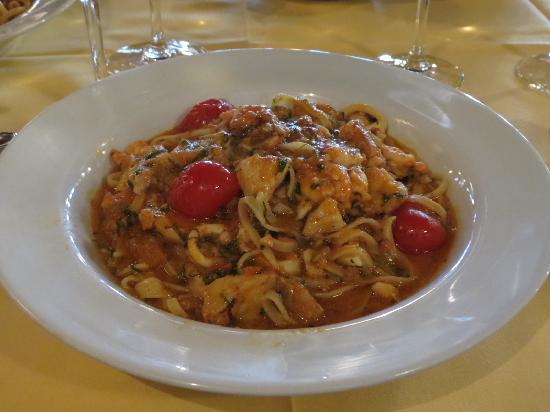Restaurante Barracuda - massa com frutos do mar
