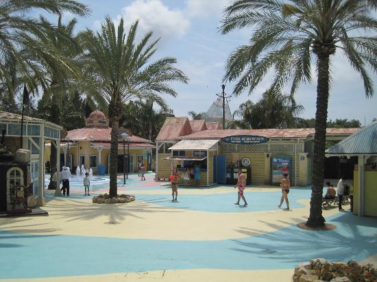 PortAventura Aquatic Park : entrance