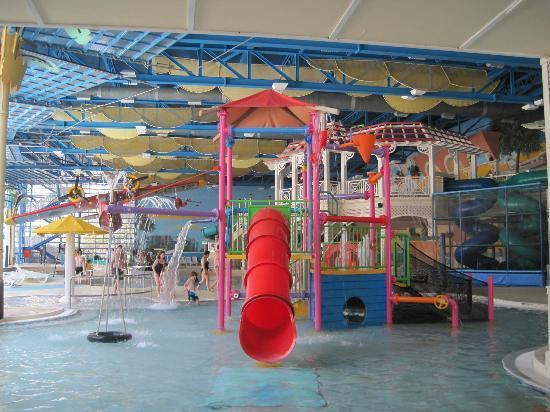 PortAventura Aquatic Park: indoor play area