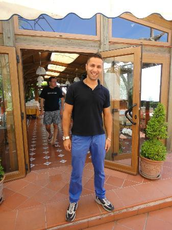 Gocce di Capri Restaurant: MARIO= serena ed ospitale accoglienza!!! Grazie ancora