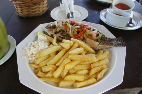 Sisimbo Beach Resort: Catch of the Day