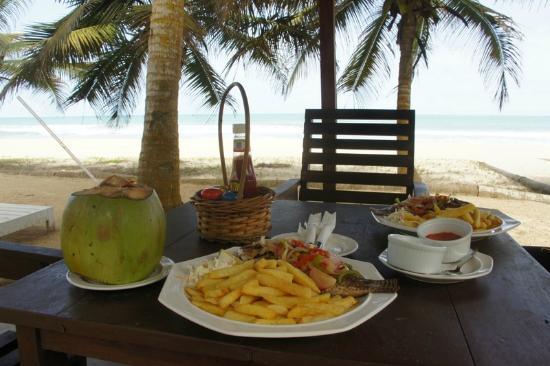 Kuntul, Ghana: Food served