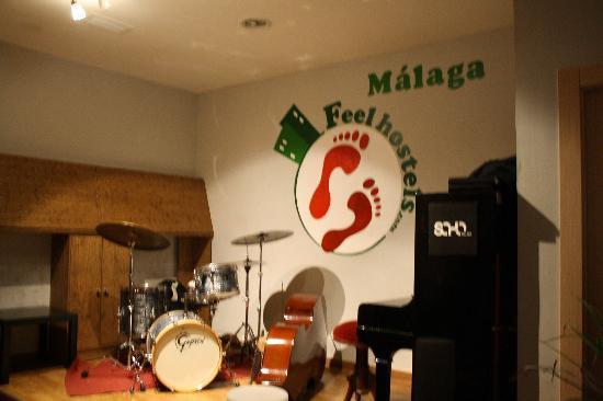 Feel Hostels Soho Malaga: FEEL MALAGA HOSTEL CONCIERTOS JAZZ
