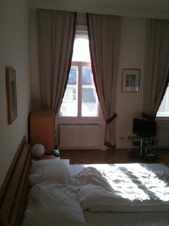 Belvedere Appartements: Bed Room