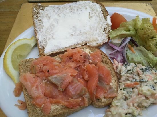 No4 Restaurant: 'Open' Sandwich.