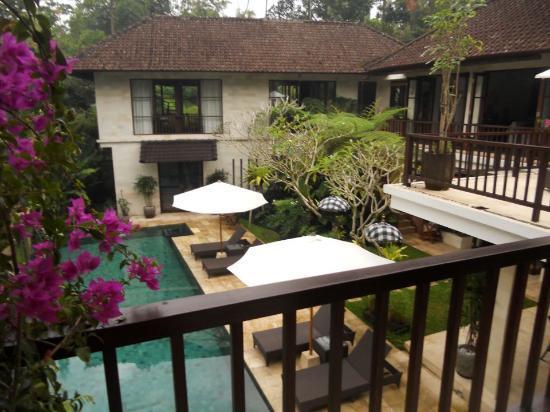 Villa Saraswati: side view from Lotus Room