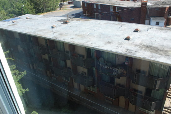 Holiday Inn Hotel & Suites Asheville Downtown:                   Our View