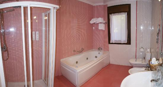 Apartamentos Villa la Argentina: Appartment bathroom