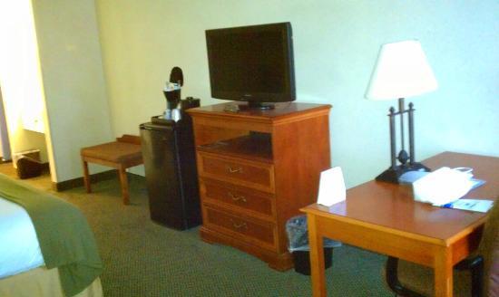 Holiday Inn Express Cambridge: Basic but complete - fridge, TV, desk