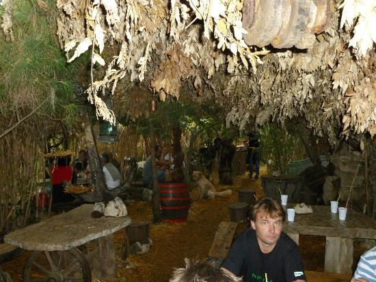 Muntic, Croacia: Safari bar shade