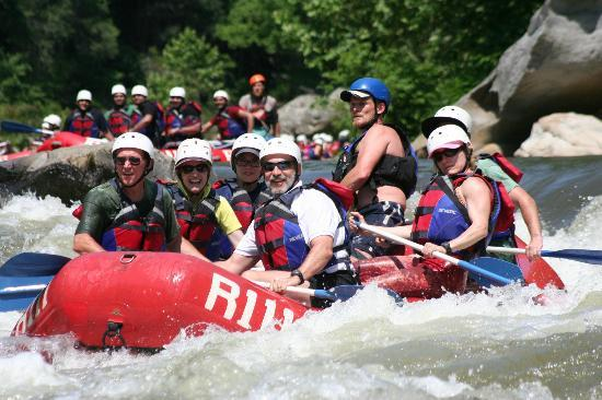 USA Raft: Good day to get wet