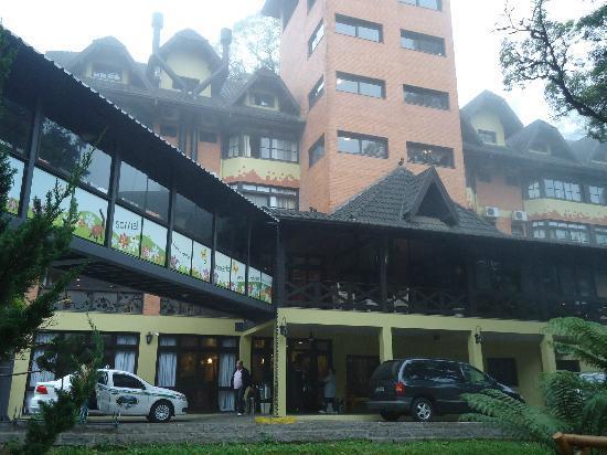 هوتل ريكانتو دا سيرا: ÁREA DO HOTEL