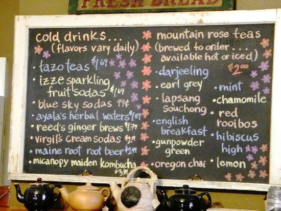 Mosswood Farm Store: Drinks