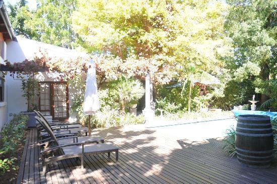 5 Seasons Guesthouse: cour arrière