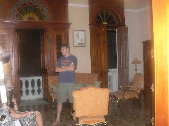 Hostal del Angel: front room