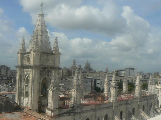 Hostal del Angel: This is the view from the rooftop