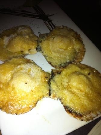 Perurrican Restaurant: conchitas with scalop and parmesano