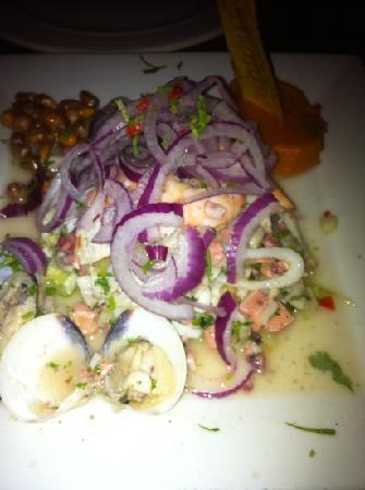 Perurrican Restaurant: ceviche mixto