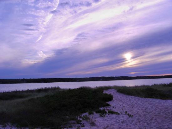 Martha's Vineyard Chamber of Commerce: Oak Bluffs Beach Sunset (unedited)