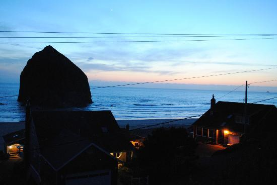 Inn at Haystack Rock: View from the deck