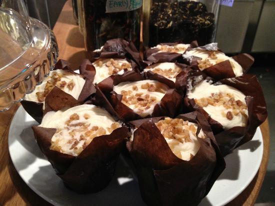 Deja Vu Delikatesser: carrot cake muffins