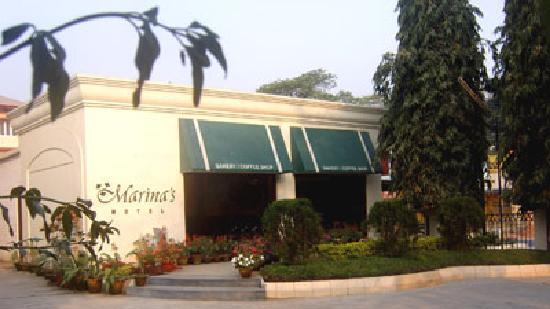 Marina's Motel: coffee shop entrance