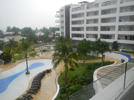 Marival Residences Luxury Resort: View from the balcony