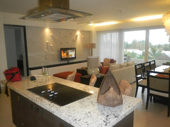 Marival Residences Luxury Resort: Living Room area