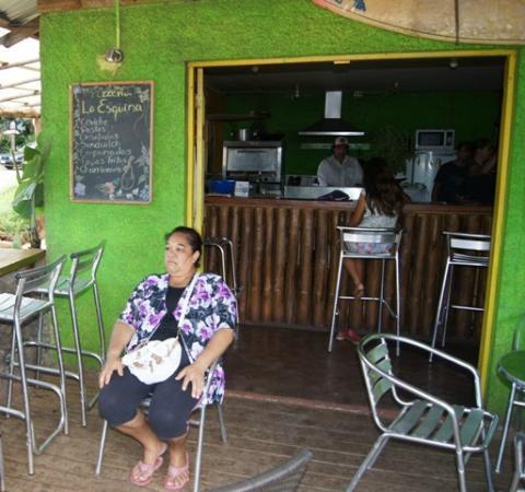 Casa Esquina Isla de Pascua: L'entrée du snack