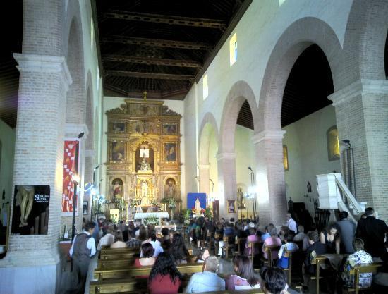 Tabernas, Spanyol: Kirche von Innen