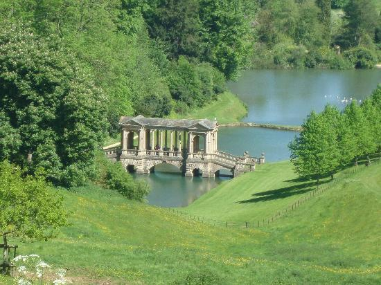 Prior Park Landscape Garden View of the palladian bridge from the top of hillprior park prior park landscape gardens nt view of the palladian bridge from the top workwithnaturefo