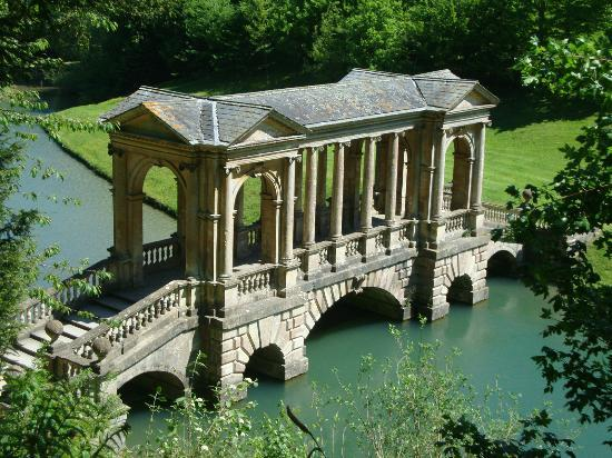 Elegant Prior Park Landscape Gardens (NT): Palladian Bridge Prior Park Landscape  Garden Bath