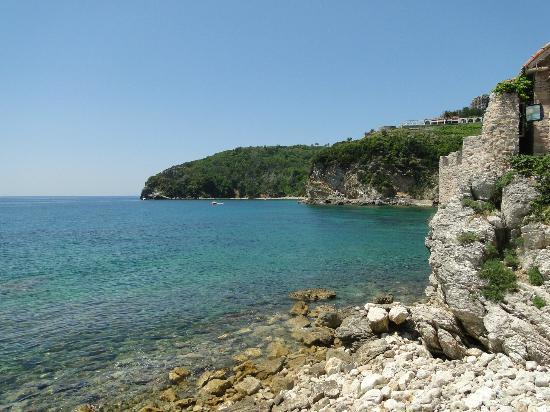 Queen of Montenegro : A view in Old Budva