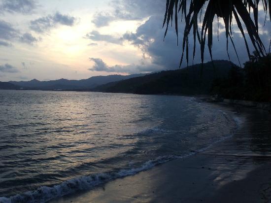 Beach from Villa Gading