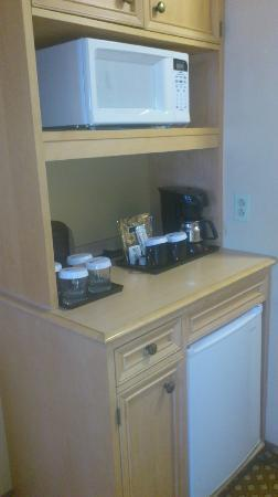 Hilton Garden Inn Orlando at SeaWorld: Kitchenette area in room